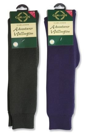 Garlands Adventurer Full Length Wellington Socks