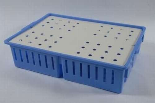 Plastic 4 Compartment Chick Box (100 Chicks) (excludes lid)