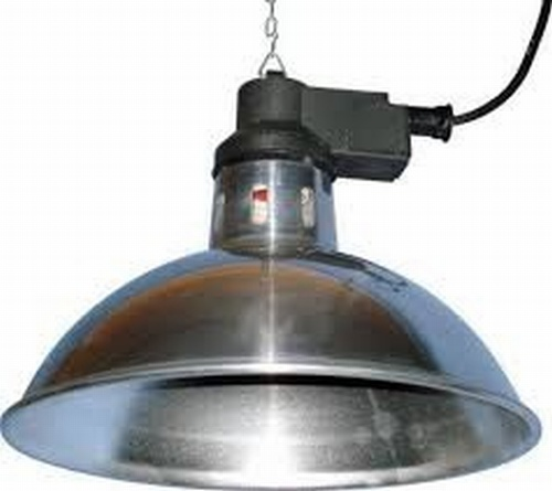 Overhead Heat Lamp (does not include ceramic element)