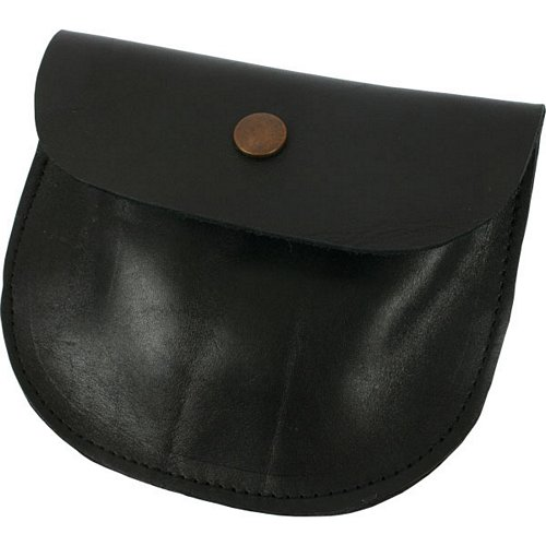 Garlands Leather Flapped Bullet Pouch